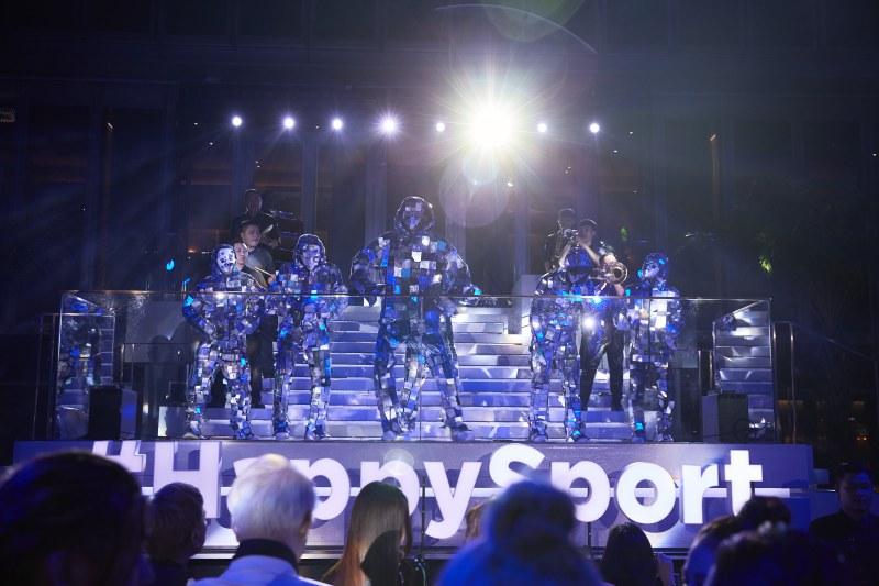 Màn trình diễn đặc biệt trong đêm tiệc của Chopard.