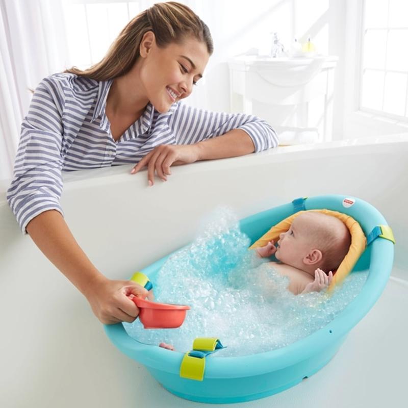 Theo Connie, trẻ em cần có bồn tắm riêng để đảm bảo an toàn cho bé