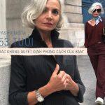"""Fashionista 53 tuổi Grece Ghanem: """"Tuổi tác không quyết định phong cách của bạn"""""""