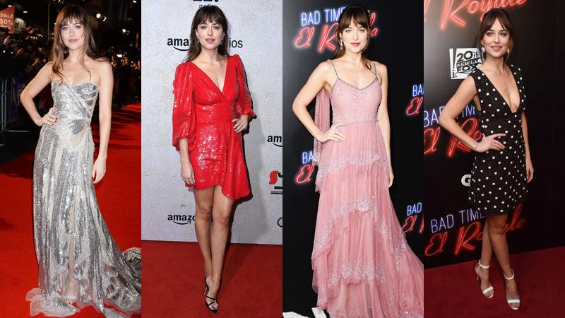 """Phong cách thảm đỏ gợi cảm và thanh lịch của mỹ nhân """"50 Sắc Thái"""" Dakota Johnson"""