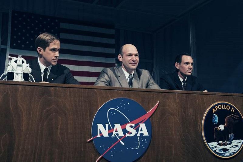 Buổi họp báo của NASA cho chuyến hành trình đặt chân lên Mặt trăng đầu tiên mang tính lịch sử của nhân loại.