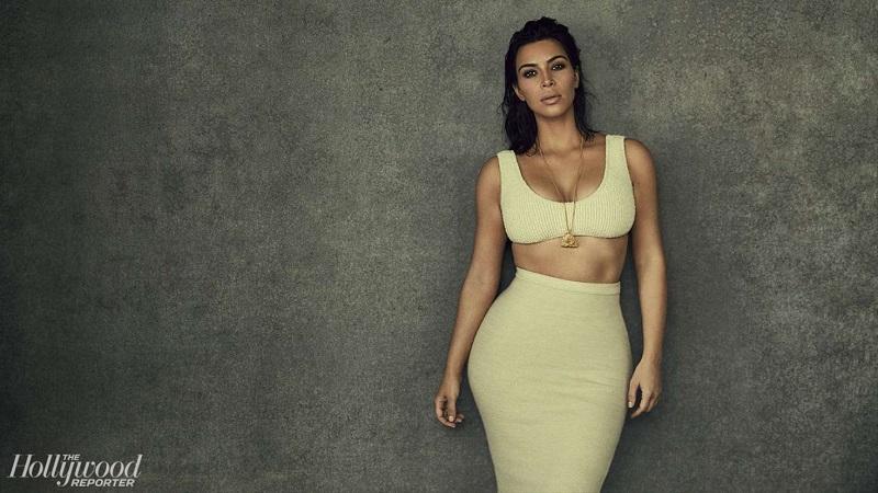 """Thân hình """"chuẩn"""" đồng hồ cát của Kim."""