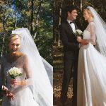 Ellie Goulding hóa thân thành cô dâu cổ điển với đầm cưới hiệu Chloé trong ngày cưới