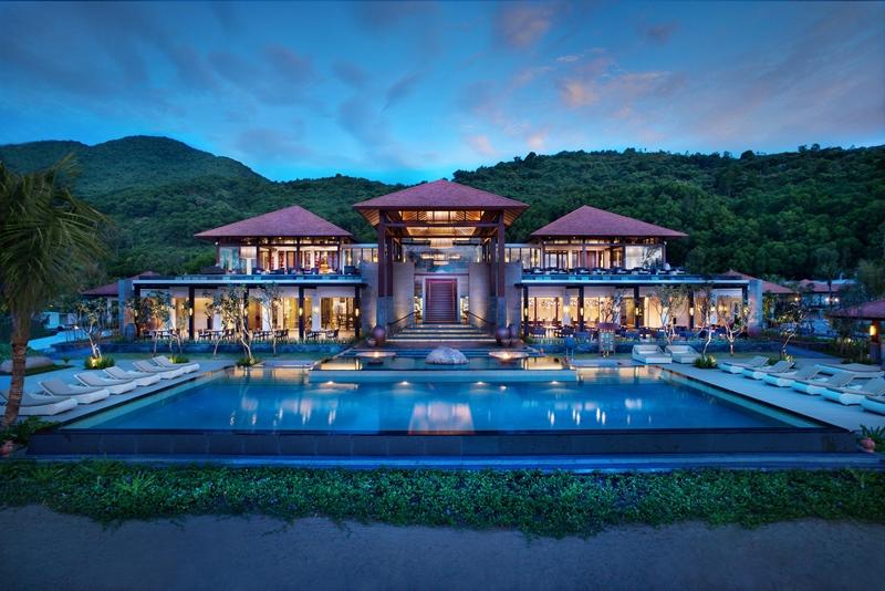 """Khách sạn Banyan Tree thuộc khu phức hợp nghỉ dưỡng Laguna Lăng Cô, nơi diễn ra sự kiện """"Hành Trình Về Phương Đông""""."""