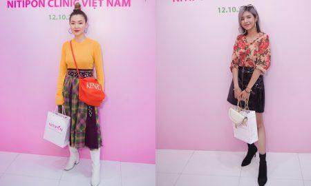 VJ MTV Vietnam Kaylee Hwang, Beauty blogger Gấu Zoan cùng loạt người đẹp chúc mừng Nitipon Việt Nam