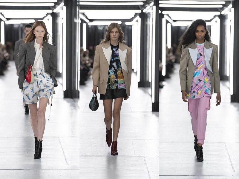Những chiếc áo khoác mạnh mẽ và đầy uy quyền mang đến vẻ đẹp táo bạo đặc sắc cho người phụ nữ Louis Vuitton mùa Xuân Hè 2019.