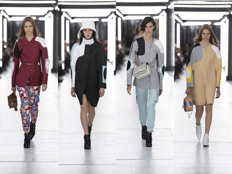 Những phom dáng trang phục đặc sắc được sáng tạo bởi NTK Nicolas Ghesquière khắc họa hình ảnh người phụ nữ Louis Vuitton mùa Xuân Hè 2019.