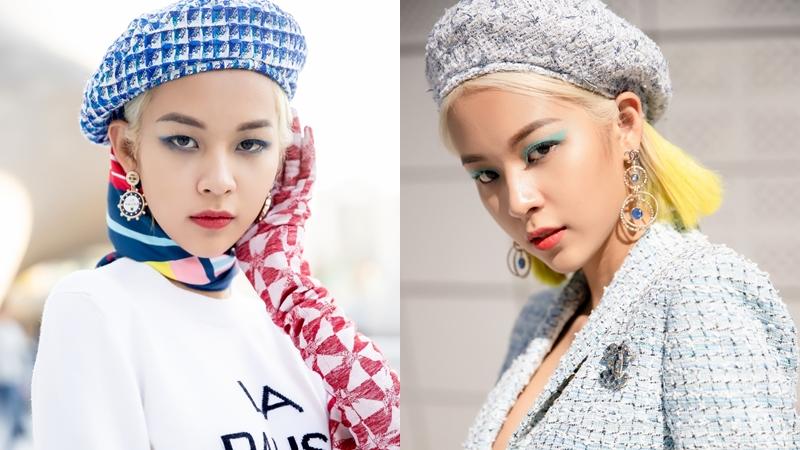 """Phí Phương Anh chỉ uống nước """"cầm hơi"""" khi chinh chiến tại Seoul Fashion Week 2019"""