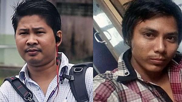 Hai phóng viên Reuters bị Thẩm phán Myanmar kết án 7 năm tù
