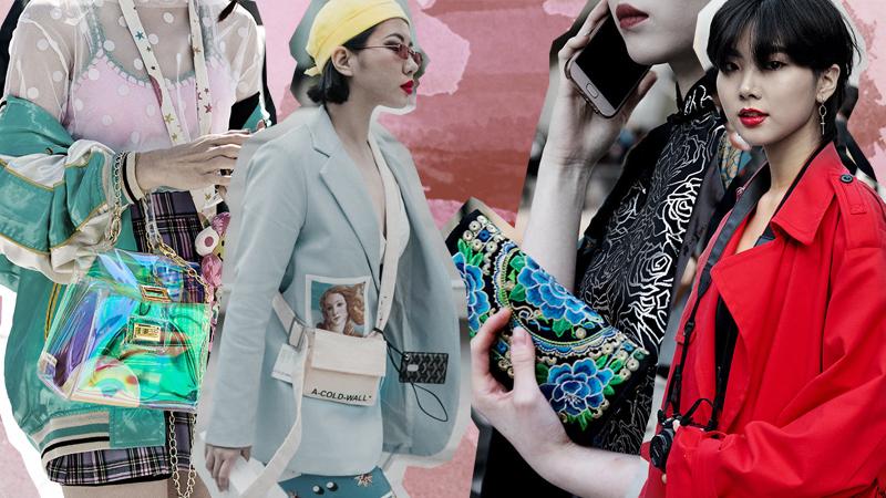 Những mẫu túi xách khiến giới trẻ Hàn mê mẩn tại Seoul Fashion Week Xuân Hè 2019