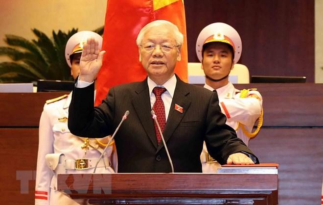 Truyền thông quốc tế đưa tin về Tổng Bí thư được bầu làm Chủ tịch nước