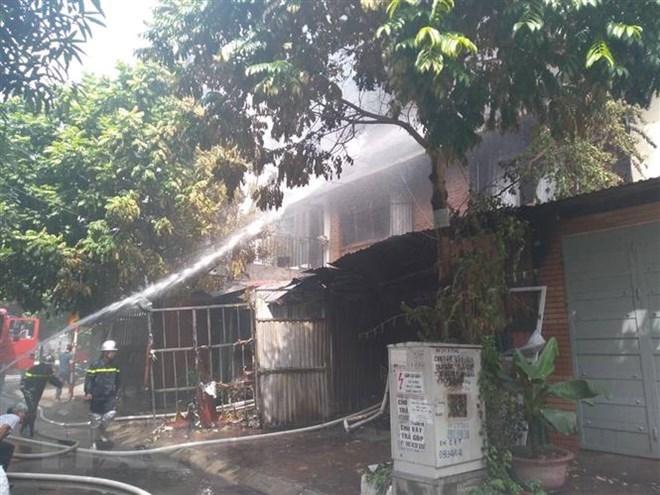 Đã tìm thấy thi thể nạn nhân trong vụ cháy tại khu đô thị Trung Văn