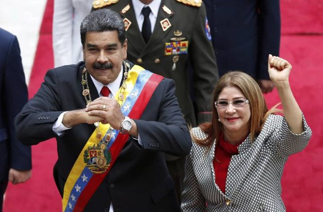 Mỹ trừng phạt phu nhân của Tổng thống Venezuela Nicolas Maduro