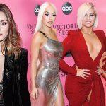 """Rita Ora, Bebe Rexha diện đầm xẻ hông, """"càn quét"""" thảm hồng Victoria's Secret Fashion Show 2018"""