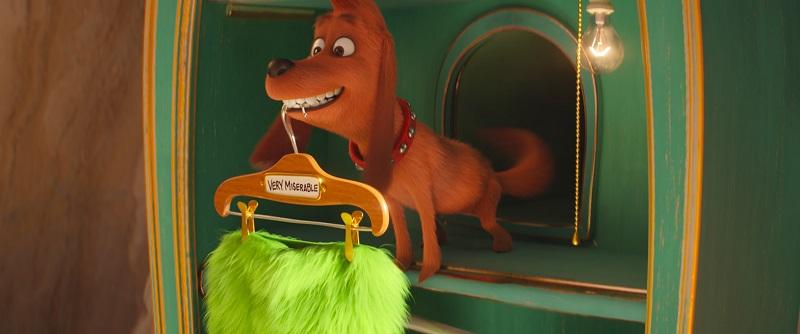 Chú chó Max, người bạn duy nhất của Grinch.