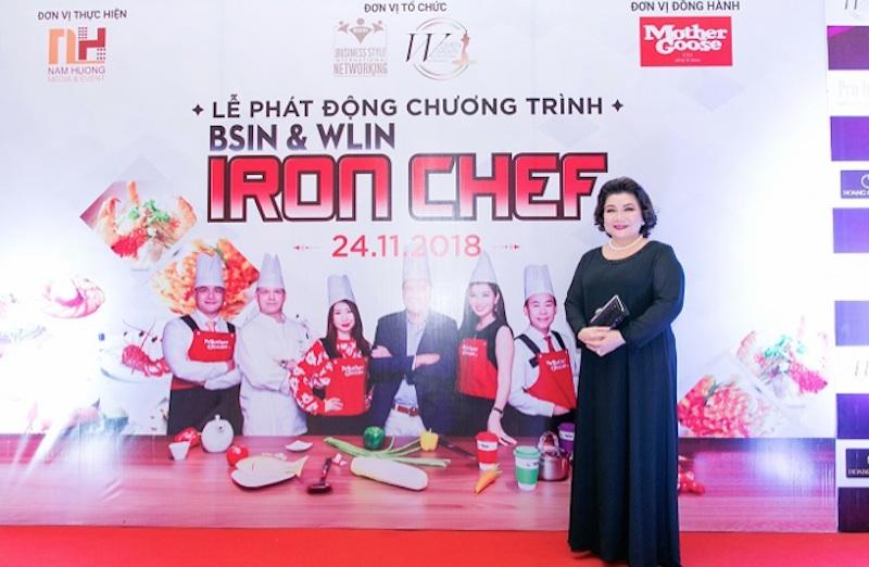 Tiến sỹ – Chuyên gia tâm lý Lý Thị Mai – Giám khảo phong cách cuộc thi BSIN & WLIN Iron Chef