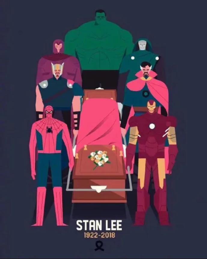 """Giờ đây, những siêu anh hùng sẽ có """"màn cameo ngược"""" trong hồi kết cho cuộc đời vĩ đại của Stan Lee."""