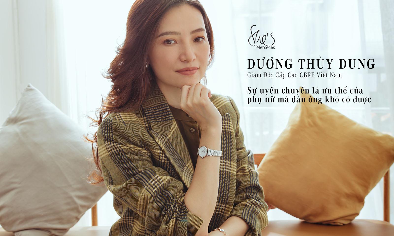 """Dương Thùy Dung: """"Sự uyển chuyển là ưu thế của phụ nữ mà đàn ông khó có được"""""""