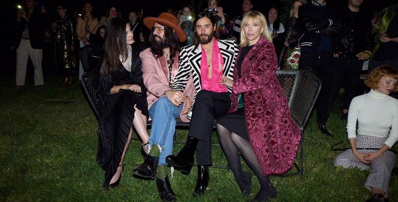 Bên cạnh việc hòa mình vào đêm tiệc tưng bừng, các khách mời còn có cơ hội xem trước TVC quảng cáo dòng nước hoa mới của Gucci, với sự tham gia của gương mặt đại diện cho sản phẩm này là Lana Del Rey, cùng vai diễn cameo của Courtney Love và Jared Leto.