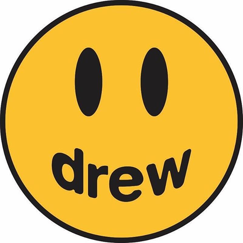 """Logo là biểu tượng mặt cười với dòng chữ """"Drew"""" ở phần miệng là tên đệm của Justin Bieber."""