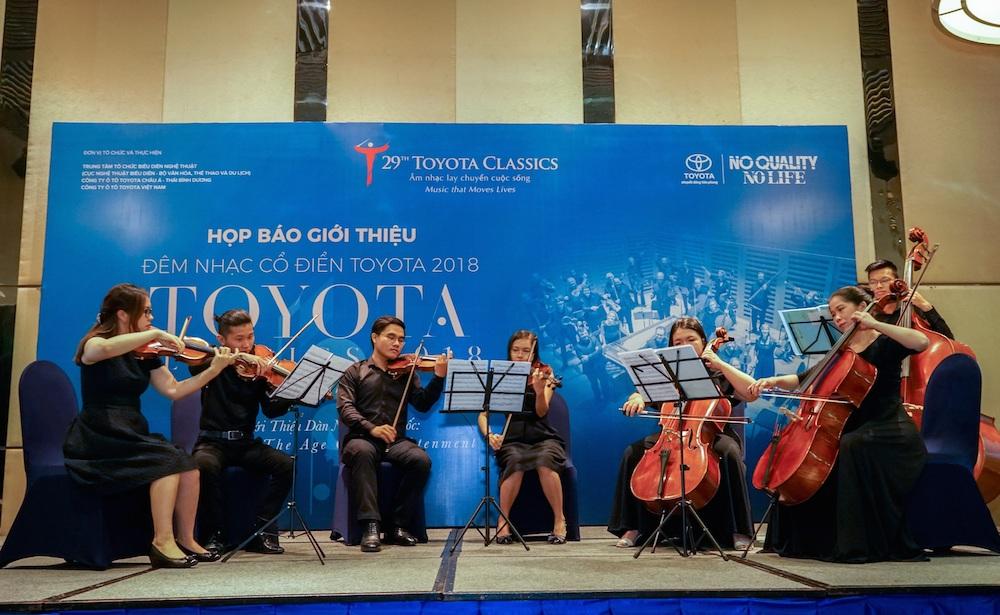 Đêm nhạc Toyota Classics 2018 trở lại với Dàn nhạc Thời kỳ Khai sáng