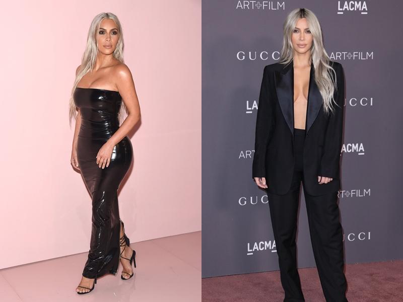 """Kim Kardashian biến hóa từ gợi cảm """"thiêu đốt mọi ánh nhìn"""" đến sắc sảo, quyến rũ trong các thiết kế của Tom Ford, kể từ thời ông còn làm việc tại Gucci cho đến khi có thương hiệu riêng."""