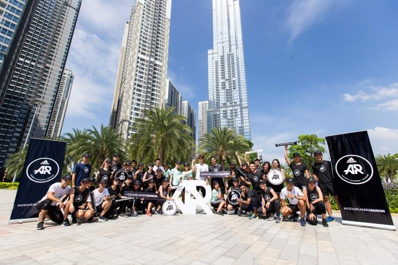 Sự kiện ra mắt cộng đồng chạy bộ quốc tế adidas Runners Saigon.