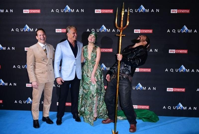Phim Aquaman sẽ được ra mắt công chúng Việt Nam vào ngày 13/12.