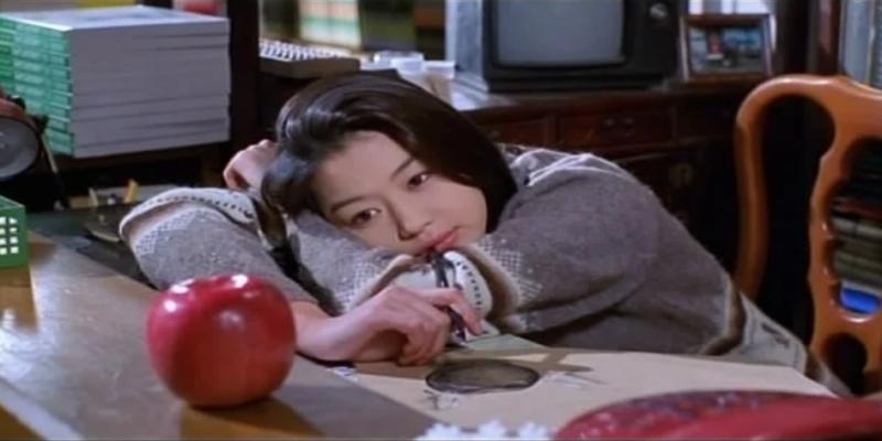 """Năm 1999, nữ diễn viên lần đầu xuất hiện trên màn ảnh với vai Kim Jeong Min trong """"White Valentine"""", tuy tác phẩm đầu tay của """"mợ chảnh"""" không mấy thành công."""