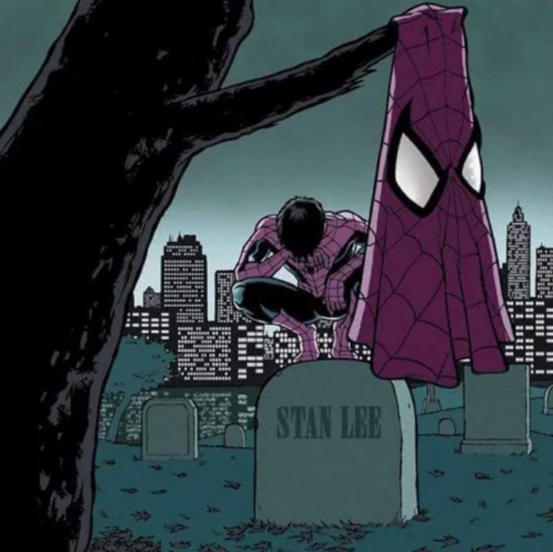 Spiderman do Stan Lee tạo nên đến nay vẫn là thành công mang tính bước ngoặt của Marvel.