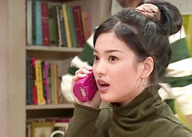 """Năm 1996, Song Hye Kyo chỉ là một nhân vật vô danh trong """"First Love""""."""