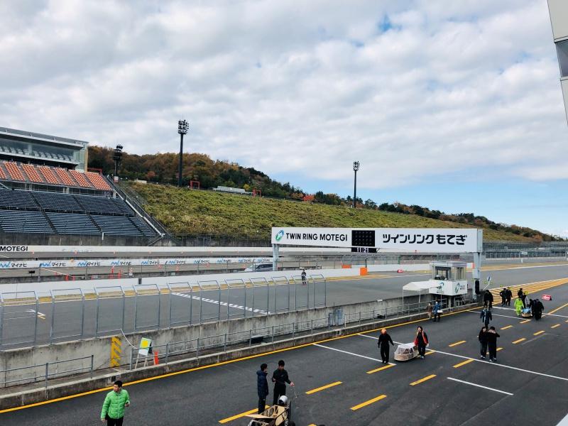 Twin Ring Motegi có nhiều đường đua khác nhau cho cả chặng đua karting và F4.