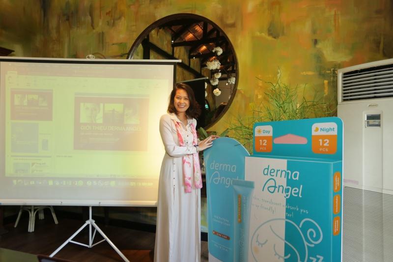 Giám đốc sáng tạo của Derma Angel - bà Trần Hiền.