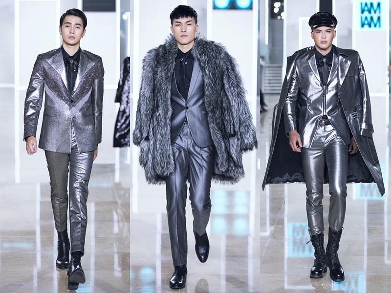 Những bộ suit dành cho nam giới qua cách thể hiện của NTK Chung Thanh Phong mang những tuyên ngôn táo bạo thể hiện cá tính thời trang nổi bật.