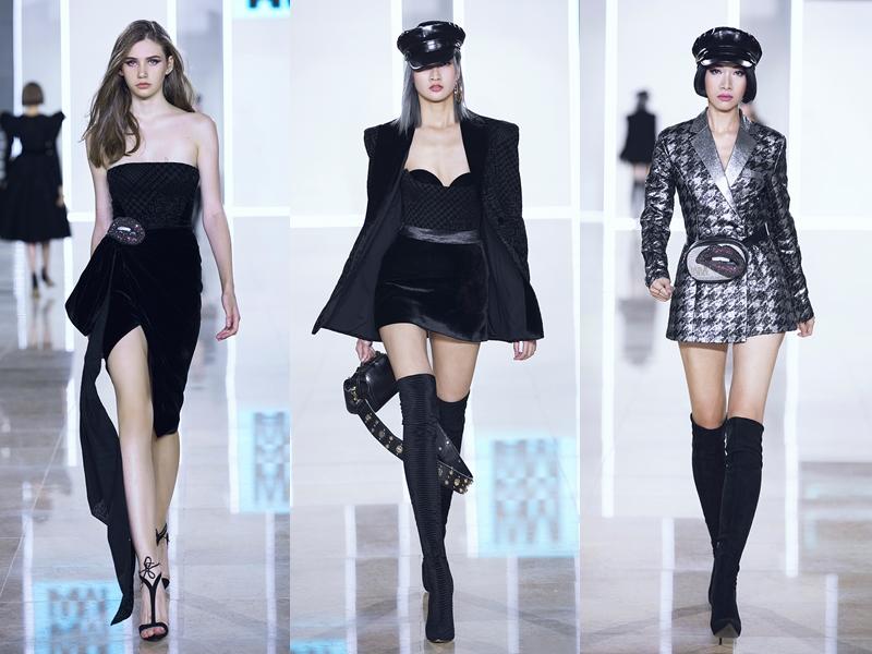 Sự đa dạng trong các thiết kế chứng tỏ tài năng sáng tạo của NTK Chung Thanh Phong.