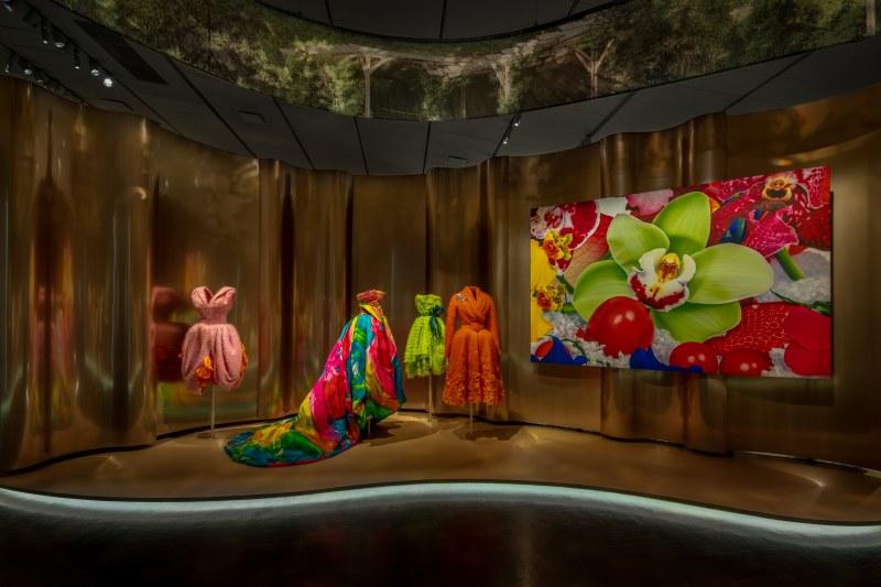 Các thiết kế của Dior với những cách thể hiện đa dạng, phong phú, được sắp xếp theo những chủ đề, thời kỳ,...