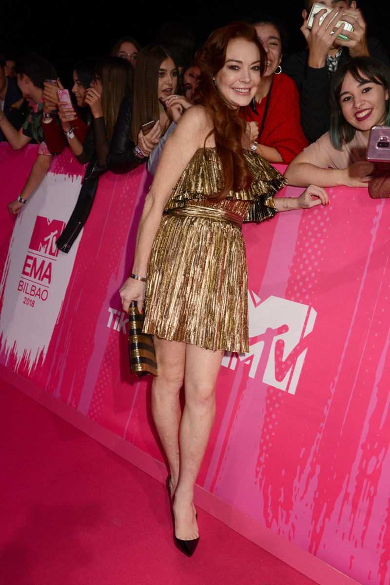 Tuy nhiên, sự trở lại của Lindsay Lohan cũng khiến mọi người vô cùng thích thú.
