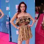 """Lindsay Lohan """"bất thình lình"""" xuất hiện trên thảm đỏ EMA 2018"""