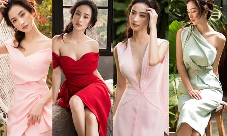 Jun Vũ kiêu kỳ trong các thiết kế của Lê Thanh Hòa