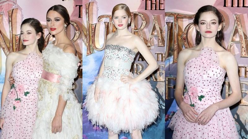 """Keira Knightley tỏa sắc cùng Mackenzie Foy và Ellie Bamber đẹp như """"tiên nữ"""" trong sự kiện công chiếu phim"""