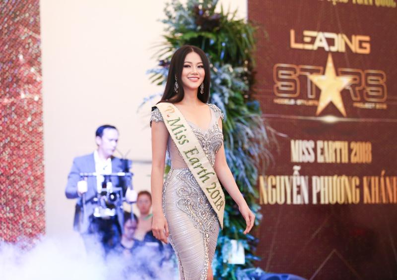 """Nguyễn Phương Khánh: người đẹp Việt đầu tiên được vinh danh """"Hoa hậu Trái đất 2018"""""""