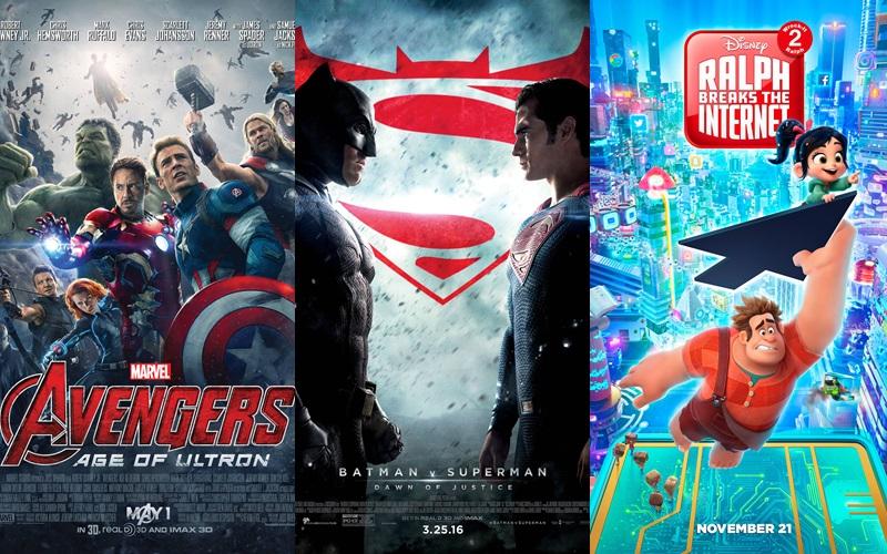 """Những bộ phim """"crossover"""" đình đám nhất định phải xem"""