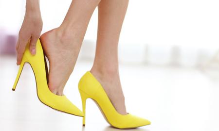 Sự tinh tế của đôi chân
