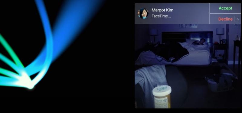 Hình ảnh cuộc gọi cuối cùng trước khi mất tích của Margot khiến người xem không khỏi rùng mình.