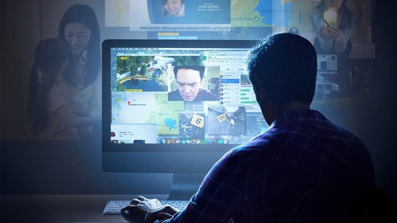 David Kim truy cập vào laptop của con gái và bắt đầu tìm ra sự thật.