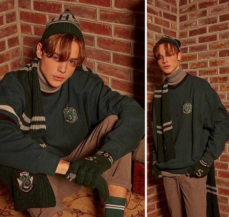 Ngoài ra còn có những chiếc khăn choàng, găng tay theo phong cách từng Nhà tại Hogwarts.