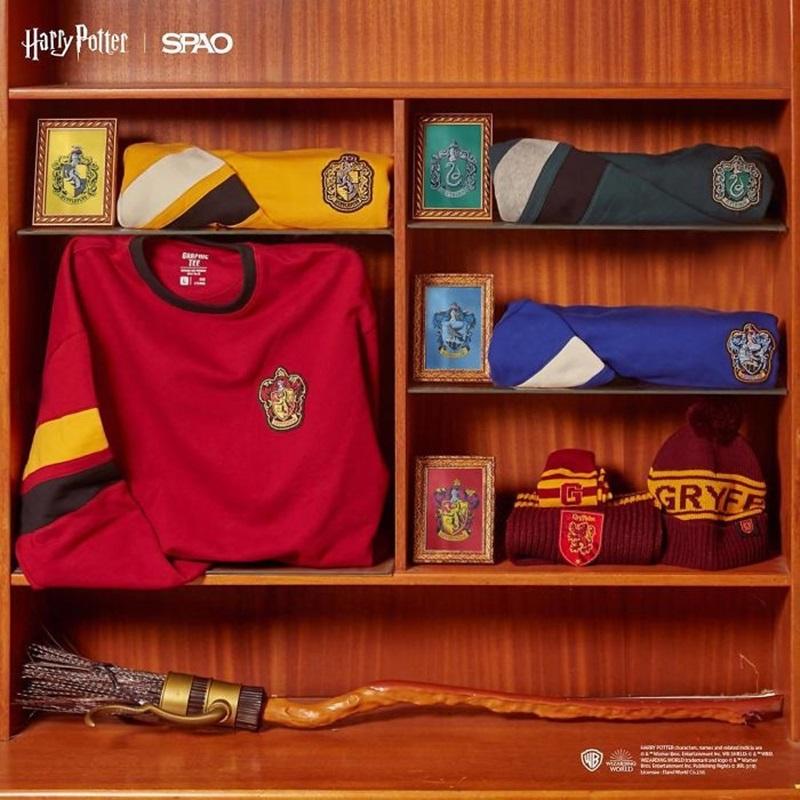 BST mới của SPAO với nguồn cảm hứng đến từ các Nhà tại trường phù thủy Hogwarts.