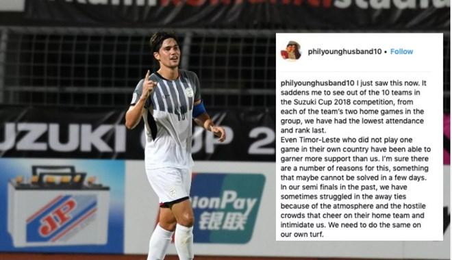 Phil Younghusband năn nỉ CĐV đến sân cổ vũ Philippines vs Việt Nam