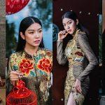 """Á hậu Thúy Vân tỏa sắc trong các thiết kế từ BST """"Hành Trình Về Phương Đông"""""""