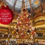 Lung linh sắc màu chợ Giáng sinh Paris
